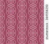 vector linear seamless pattern. ... | Shutterstock .eps vector #364558250