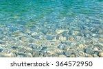 Still water and rocks