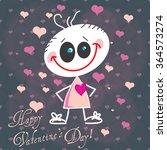 valentine's day background ... | Shutterstock .eps vector #364573274