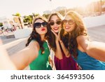 lifestyle sunny image of best... | Shutterstock . vector #364593506