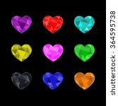 the vector of beautiful colors... | Shutterstock .eps vector #364595738