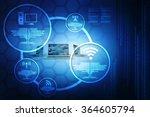 computer network | Shutterstock . vector #364605794