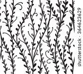 seamless floral pattern... | Shutterstock .eps vector #364623629
