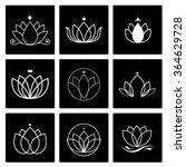 lotus logo | Shutterstock .eps vector #364629728