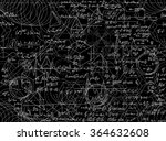 mathematical vector seamless... | Shutterstock .eps vector #364632608
