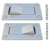 blank  silver  power switch...