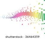 pixels vector illustration   Shutterstock .eps vector #36464359