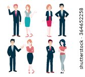 office people | Shutterstock .eps vector #364652258