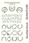 vector collection of hand drawn ... | Shutterstock .eps vector #364655180