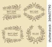 vector set. laurel wreath  ... | Shutterstock .eps vector #364657790