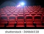 movie theater empty auditorium... | Shutterstock . vector #364666118