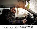 driving a car   Shutterstock . vector #364667159