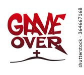 game over message vector...