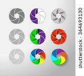 vector abstract element lens | Shutterstock .eps vector #364693130