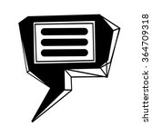 speech bubble icon illustration ...   Shutterstock .eps vector #364709318