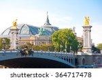 paris august 9  the pont... | Shutterstock . vector #364717478