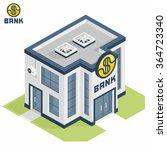 bank building | Shutterstock .eps vector #364723340