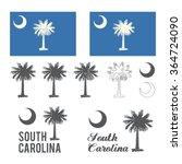 Stylized Flag Of South Carolina