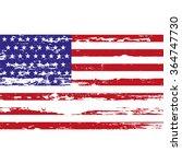 usa  flag with grunge on a...   Shutterstock .eps vector #364747730