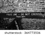 Nypd Police Line  Do Not Cross...