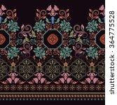 striped seamless pattern.... | Shutterstock .eps vector #364775528