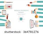 vector illustration. flat... | Shutterstock .eps vector #364781276