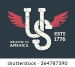 united states  america  usa... | Shutterstock .eps vector #364787390