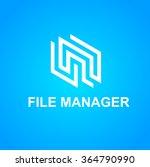 business icon   vector logo... | Shutterstock .eps vector #364790990