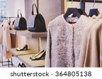 women clothing shop | Shutterstock . vector #364805138