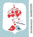 be mine valentine   vector... | Shutterstock .eps vector #364805390
