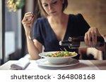 woman on a diet | Shutterstock . vector #364808168