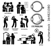 Eye Diagnosis Exam Surgery...