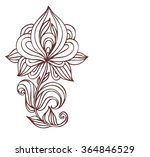 vector   permanent   tattoo ... | Shutterstock .eps vector #364846529
