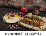 traditional middle eastern... | Shutterstock . vector #364869458