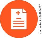 medical report | Shutterstock .eps vector #364876523