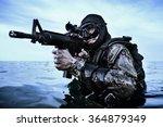 navy seal frogman | Shutterstock . vector #364879349