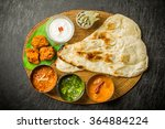 typical indian curry set | Shutterstock . vector #364884224