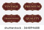 collection of premium quality... | Shutterstock .eps vector #364894688
