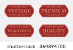 collection of premium quality... | Shutterstock .eps vector #364894700