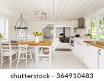 interior of a country house... | Shutterstock . vector #364910483