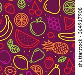 Fruits Seamless Vector Pattern...