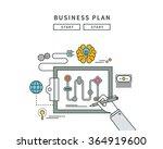 simple line flat design of...   Shutterstock .eps vector #364919600