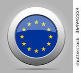 metal button with the flag of... | Shutterstock .eps vector #364942334