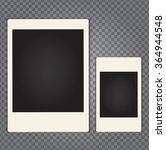 vector paper photo frame in... | Shutterstock .eps vector #364944548