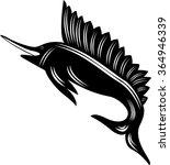 swordfish   Shutterstock . vector #364946339