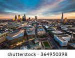 skyline view of the famous... | Shutterstock . vector #364950398