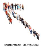 achievement idea united company    Shutterstock . vector #364950803