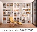 3d illustration of white... | Shutterstock . vector #364962008