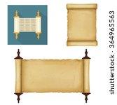 scrolls | Shutterstock .eps vector #364965563