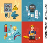 professional electrical... | Shutterstock .eps vector #364968320